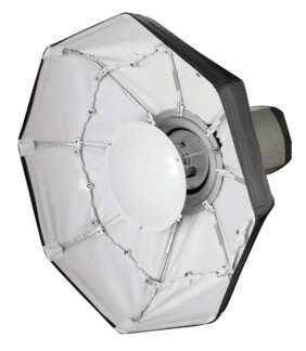 Beauty Dish plegable blanco de 70cm