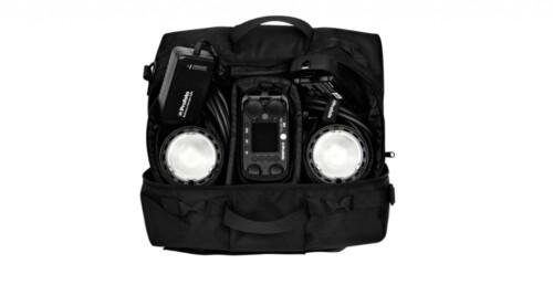 Flash Profoto B-2 To Go con dos antorchas en maleta