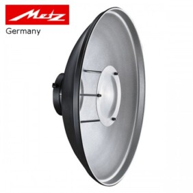Beauty Dish Metz BE-40 plateado de 40cm