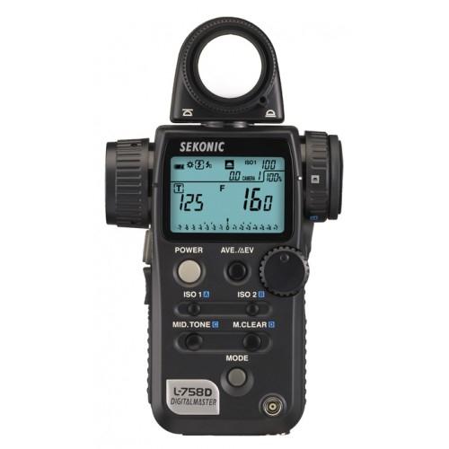 Fotómetro Sekonic Digitalmaster L-758 D PRO