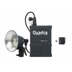 Kit flash autónomo Elinchrom Quadra Living Light