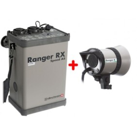 Kit flash con generador Ranger Speed ASRX + Antorcha S de Elinchrome