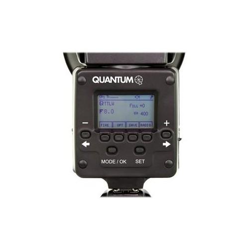 LCD del Q-Flash basic trio para Canon