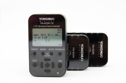 Pack 2x YN 622 para Nikon e YN 622 TX