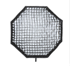 Softbox Octogonal Bowens con Panal de Abeja de 95 a 170cm de diámetro