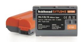 Batería Hähnel Extreme Li-Ión HLX-EL15 superior a Nikon EN-EL15