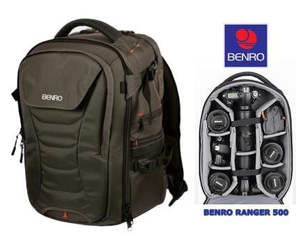 Benro ranger Pro 500 ejemplo interior