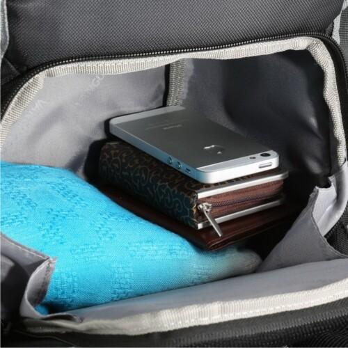 Bolsillo interior para cartera y otros accesorios