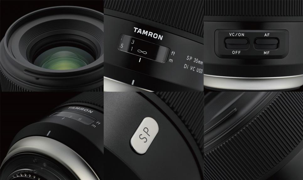 Detalles Tamron 35mm F1.8 Di VC USD