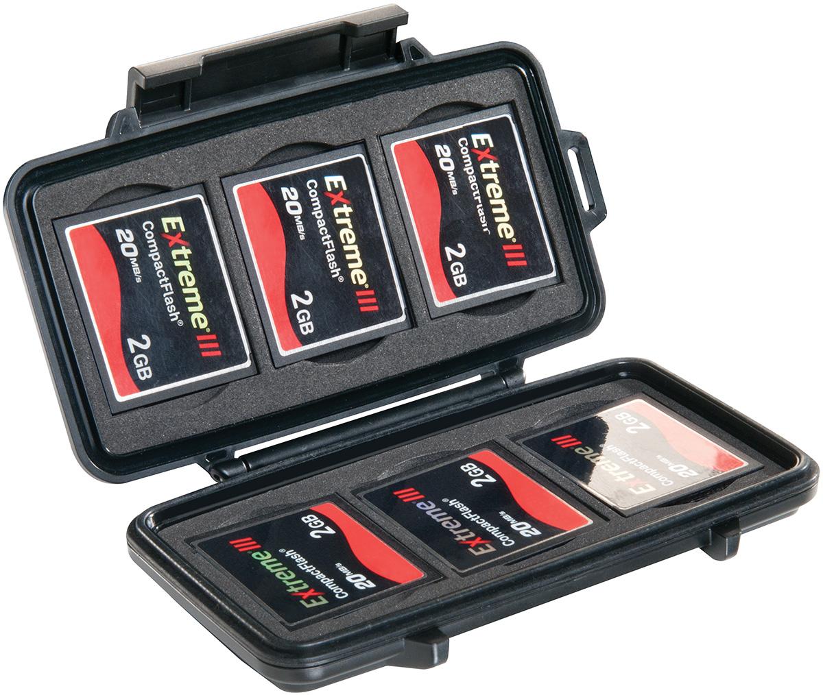 Pelican 0945 - Estuche para tarjetas Compact Flash resistente al agua IPX4
