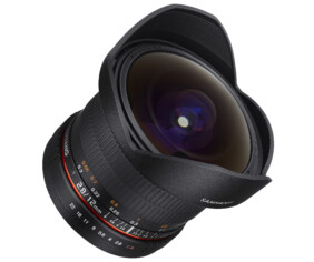 Samyang 12mm F2.8 ED AS NCS FISH-EYE para todas las monturas