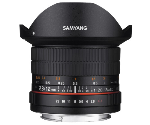Samyang 12mm F2.8 ED AS NCS Fish Eye para todas las monturas
