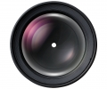 Samyang 135mm F2 ED UMC lente frontal