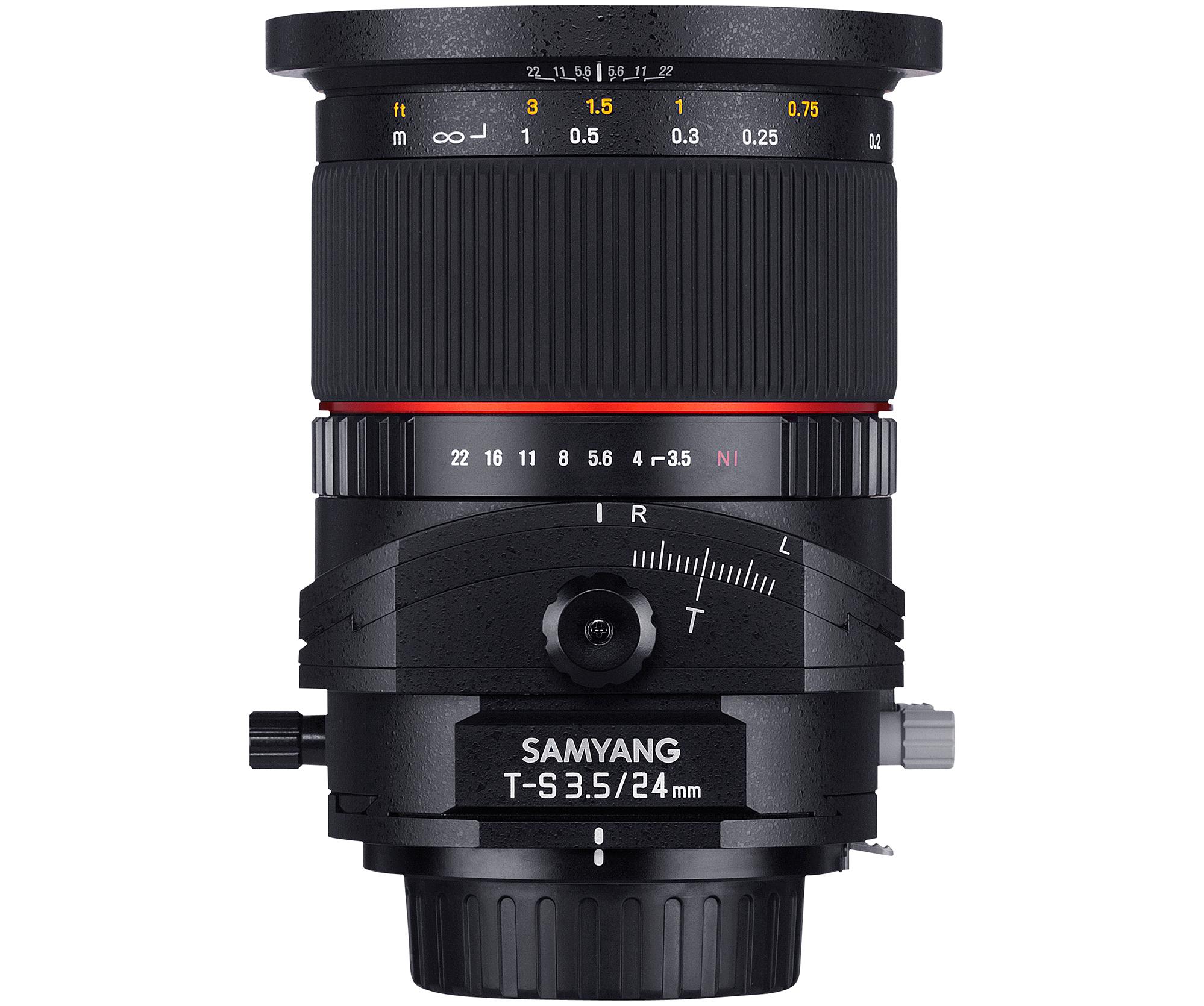 Samyang Tilt & Shift TS 24mm F3.5 todas las monturas