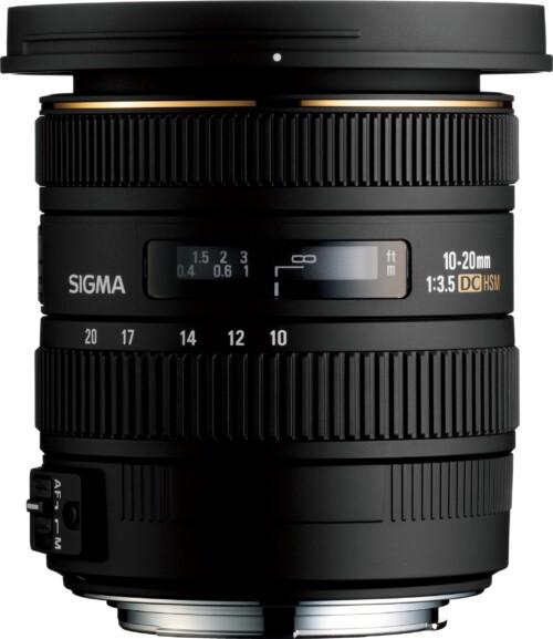Sigma 10-20mm F3.5 EX DC HSM para varias monturas