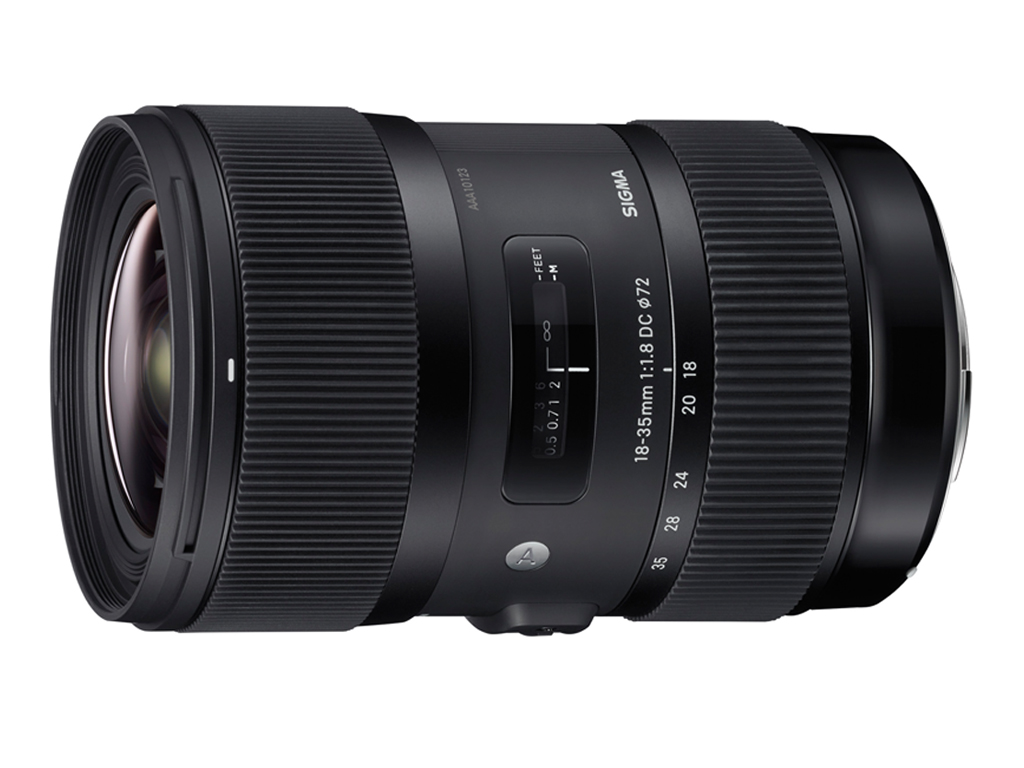 Sigma 18-35mm DC HSM ART vista frontal lateral
