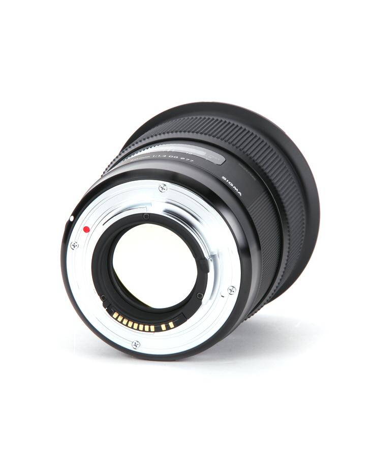 Sigma 50mm F1.4 DG HSM ART vista trasera