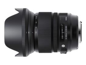 Sigma 24-105mm F4 DG OS HSM ART con parasol
