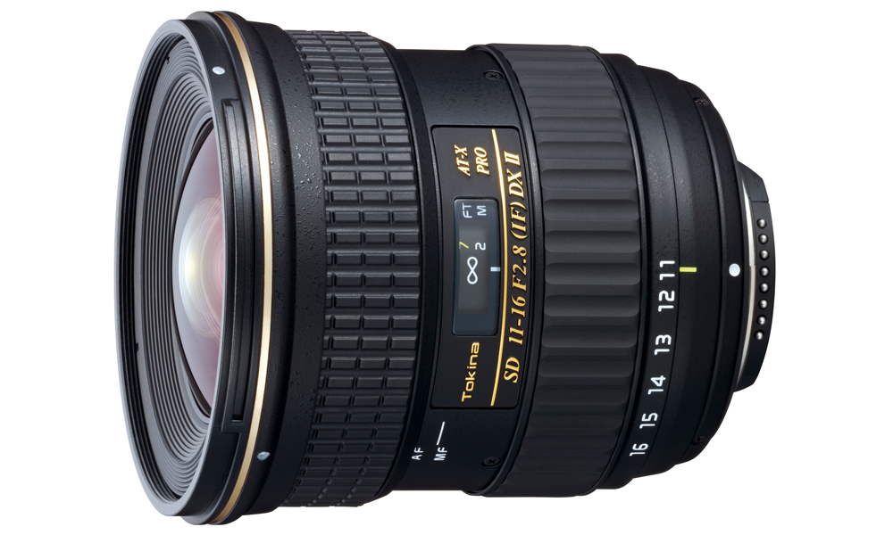 Tokina 11-16mm F2.8 ATX PRO DX-II para Canon o Nikon