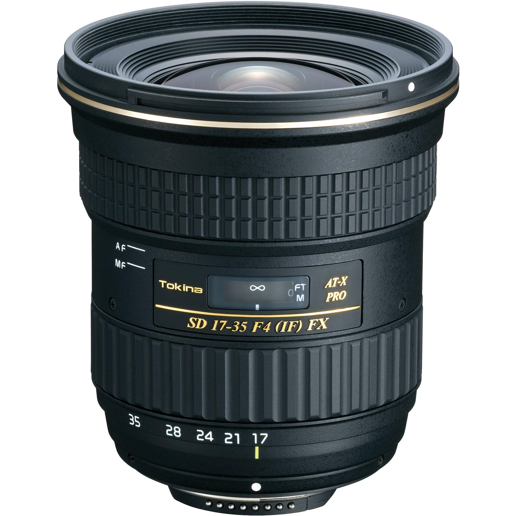 Tokina SD 17-35mm F4 ATX PRO FX Canon o Nikon
