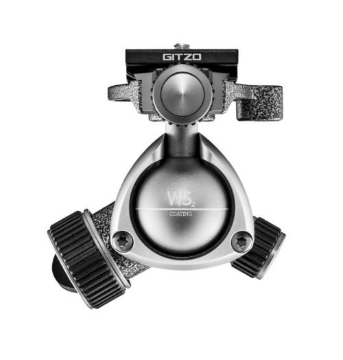 Vista superior rótula de bola Gitzo GH 1382 QD