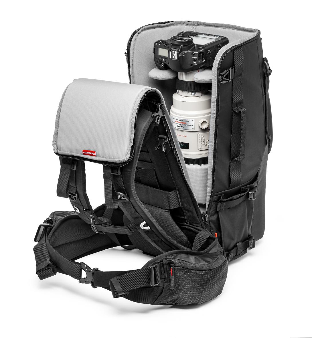Manfrotto Pro Light TLB 600 PL para teleobjetivos