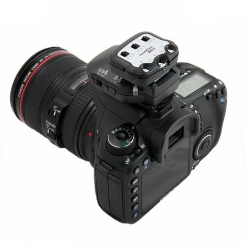 PocketWizard Zone Controller AC3 para Canon o Nikon sobre camara