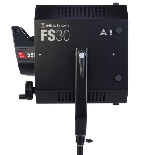 EL Fresnel Spot FS30 vista lateral