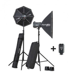 Kit 2 flashes de estudio Elinchrom BRX 500