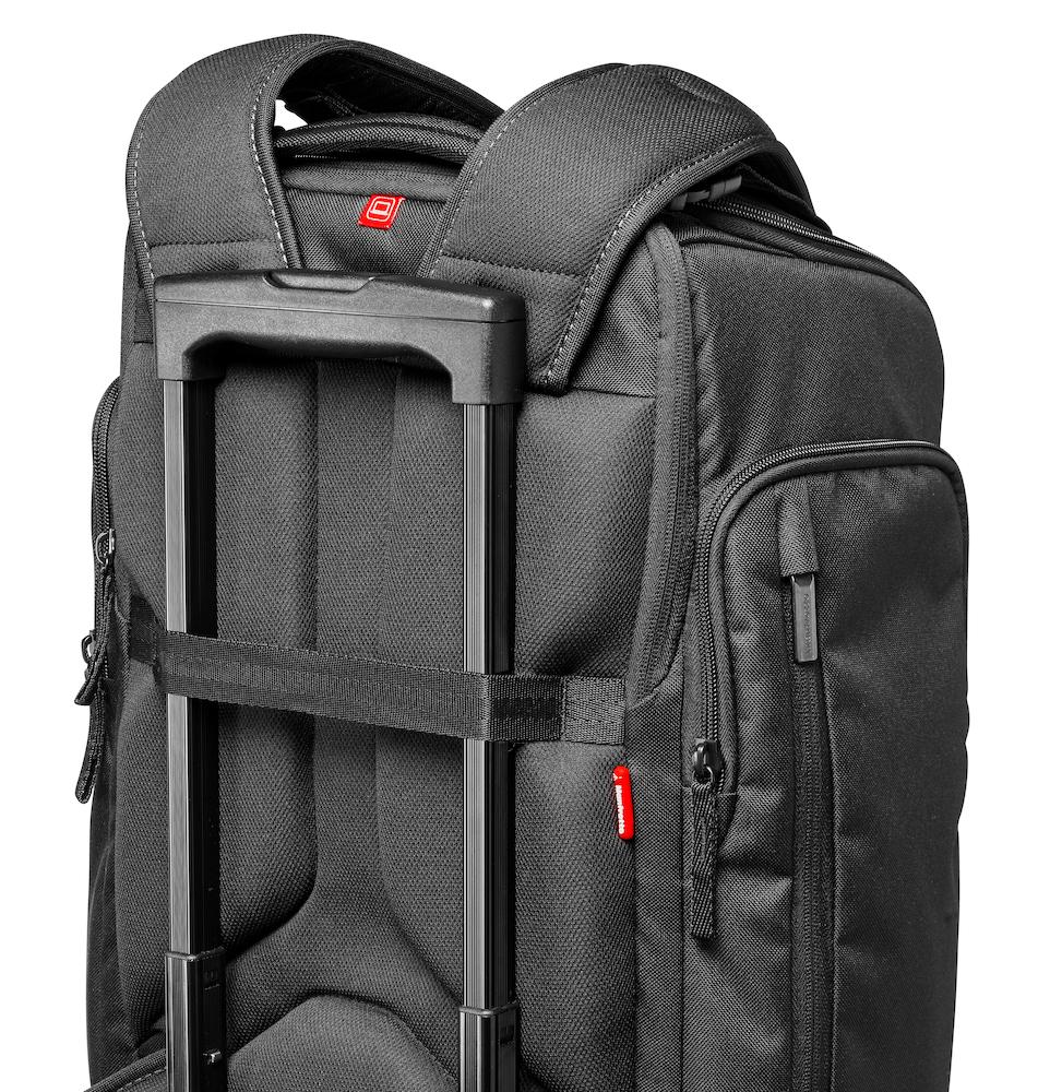 Mochila Manfrotto Professional Backpack 50 asa adicional tipo trolley