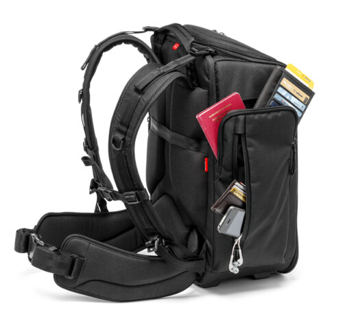 Mochila Manfrotto Professional Backpack vista lateral