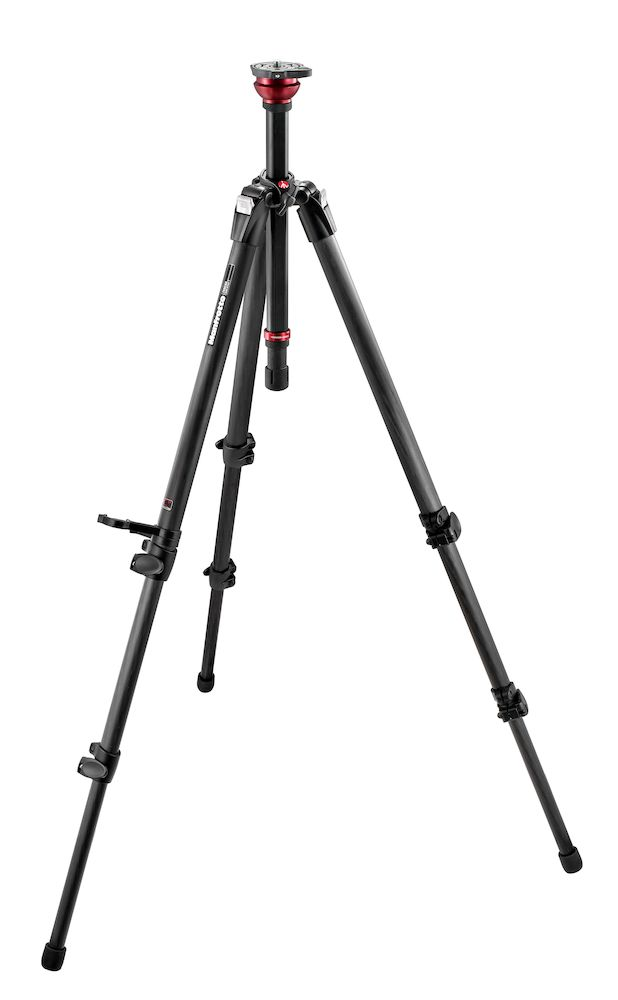 Trípode de video Manfrotto MDEVE Magfibre fibra de carbono 755CX3