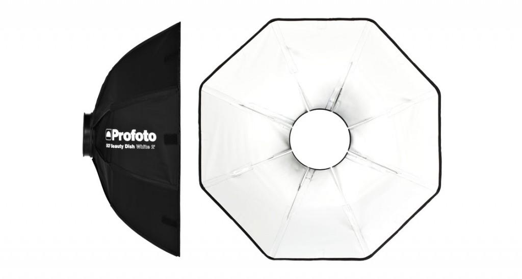 Beauty Dish plegable Profoto OCF de 2 pulgadas color blanco