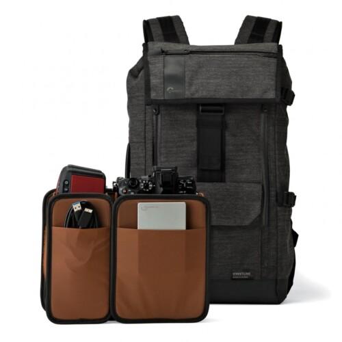Mochila Lowepro StreetLine BP-250 bolsillos internos de protección