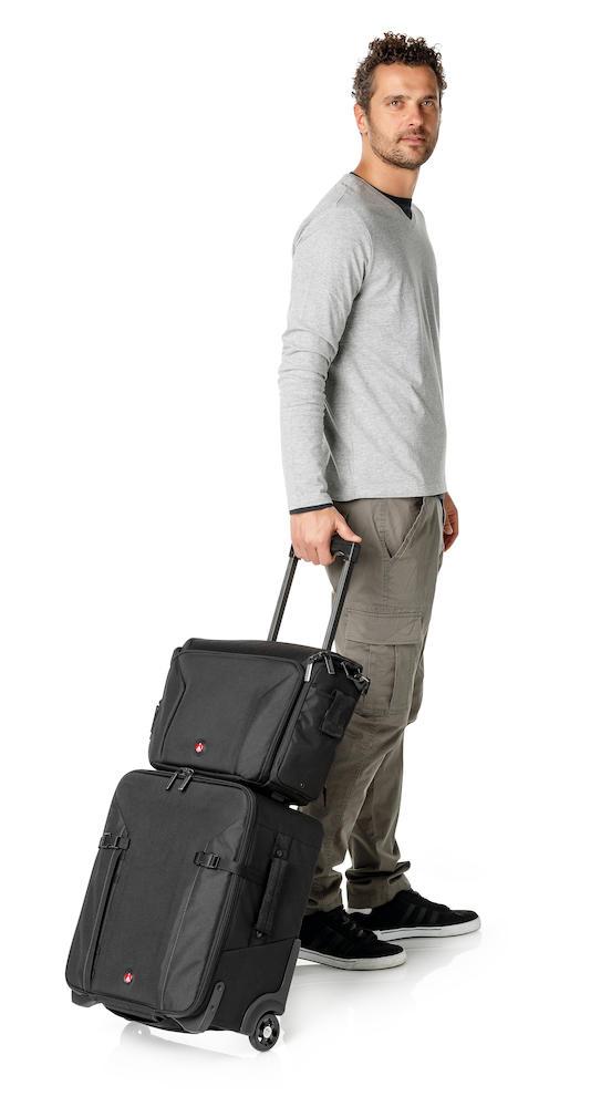 Trolley Manfrotto Professional Roller Bag 70 con bolsa opcional
