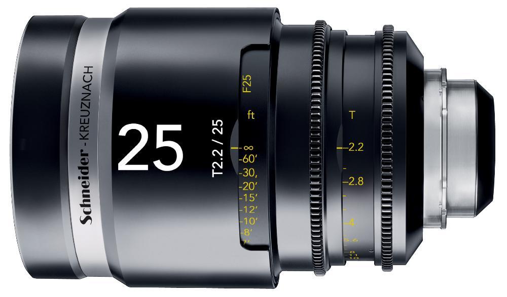 Schneider CINE-XENAR III 25mm T2.2-25 montura PL o Canon EF