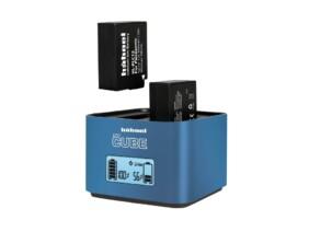 Cargador Dual para Baterías DSLR Li-Ion Hähnel ProCrube