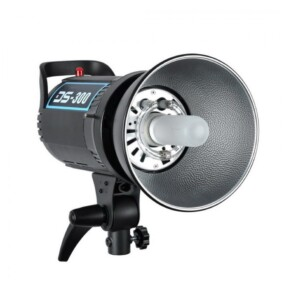 Flash de estudio Godox DS 300 montura bowens