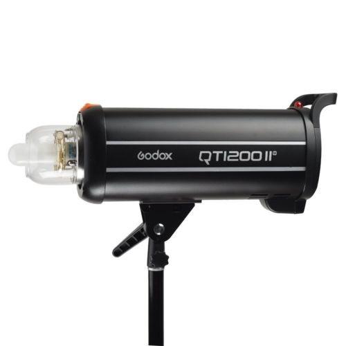 Godox QT 1200-II vista lateral sin reflector