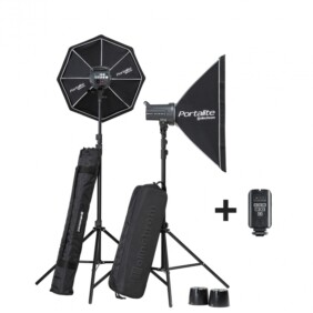Kit 2 flashes de estudio Elinchrom D-Lite RX 4/4 Softbox to go