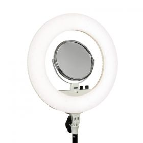 Lámpara de led Nanguang Led Ring Light bi-color con espejo