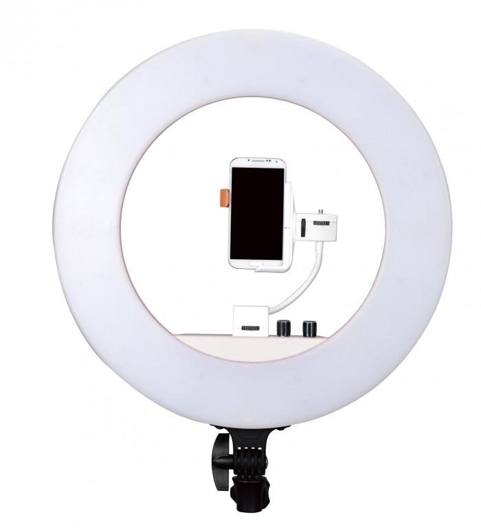 Lámpara de led Nanguang Led Ring Light bi-color