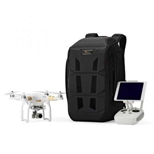 Lowepro DroneGuard BP 450 AW ejemplo drone DJI phantom