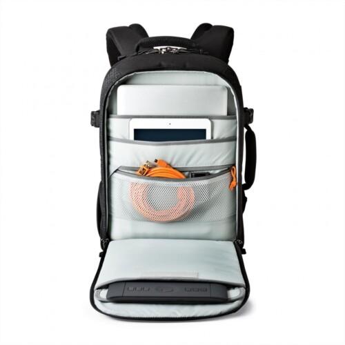 Lowepro Pro Runner BP 350 AW II bolsillos para dispositivos