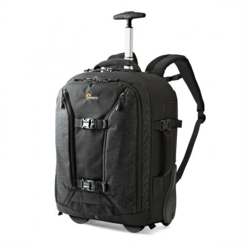 Lowepro Pro Runner RL x450 AW II lateral con asa