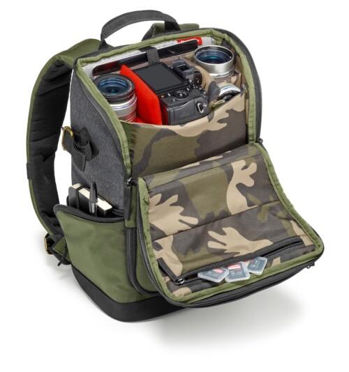Manfrotto Street camera backpack para CSC bolsillo superior objetos