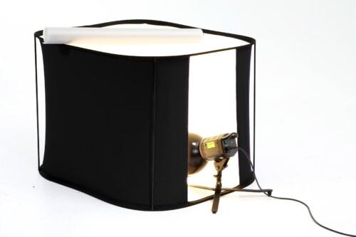 Mesa para bodegones Lite-table Lastolite de 100x100cm con iluminación inferior