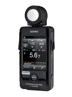 Sekonic L-478DR Litemaster PRO Elinchrom PocketWizard Phottix
