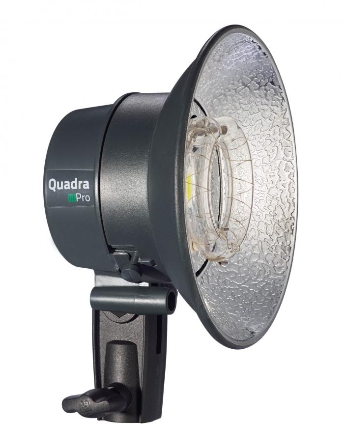 Elinchrom Quadra Pro vista lámpara