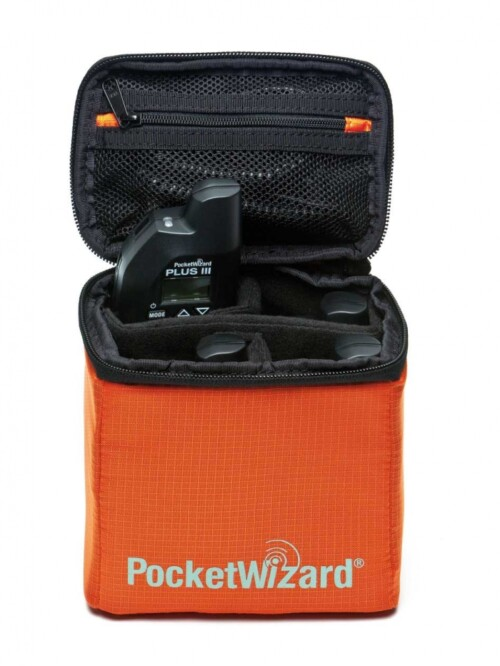 Interior bolsa de transporte triggers PocketWizard